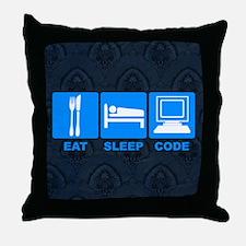 Ghost Pepper Throw Pillow