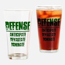 DEFENSE (1) Drinking Glass