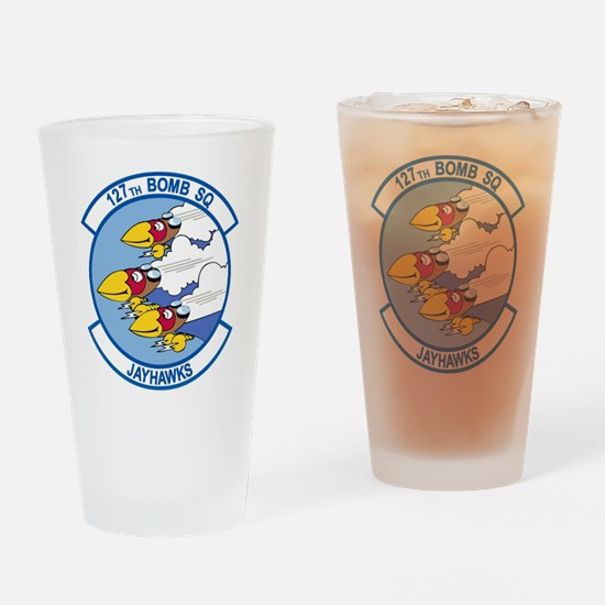 127th Bomb Squadron Drinking Glass