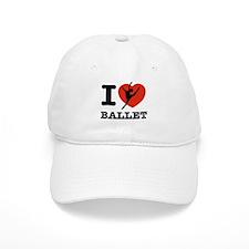 I love Ballet Baseball Cap
