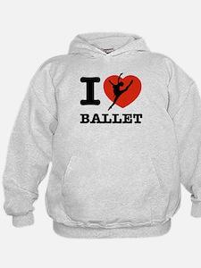 I love Ballet Hoodie