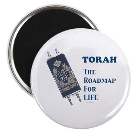 Torah Roadmap Jewish Magnet