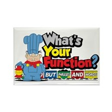 What's Your Function? Rectangle Magnet