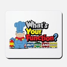 What's Your Function? Mousepad