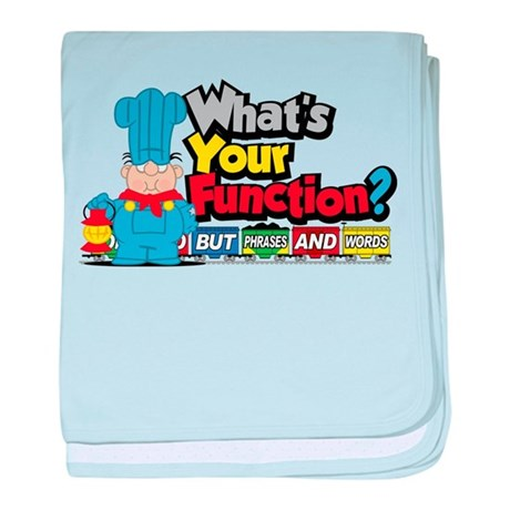 What's Your Function? baby blanket