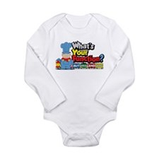 What's Your Function? Long Sleeve Infant Bodysuit