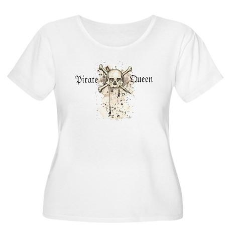 Pirate Queen Women's Plus Size Scoop Neck T-Shirt