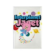 Interplanet Janet Rectangle Magnet