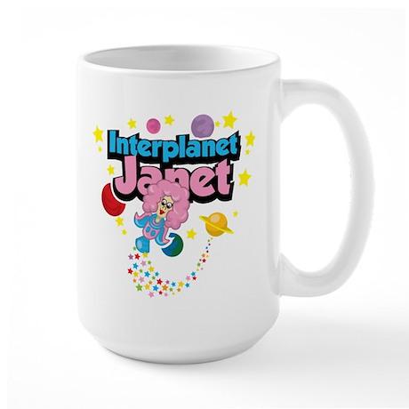 Interplanet Janet Large Mug