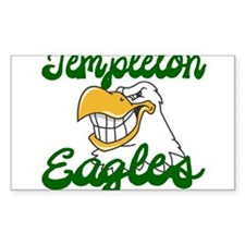 TEMPLETON EAGLES (12) Bumper Stickers
