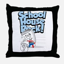 Schoolhouse Rock Bill Throw Pillow