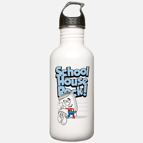 Schoolhouse Rock Bill Sports Water Bottle