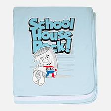 Schoolhouse Rock Bill baby blanket