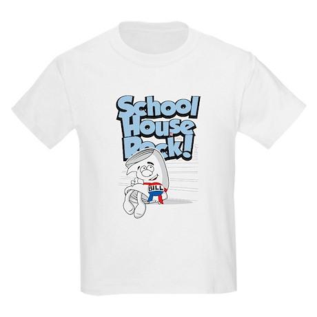 Schoolhouse Rock Bill Kids Light T-Shirt