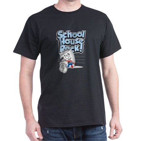 Schoolhouse Rock Bill Dark T-Shirt