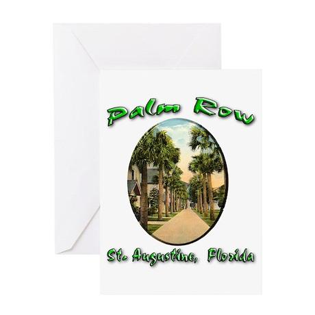 Palm Row Greeting Card