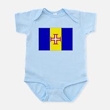 Madeira Flag Infant Creeper