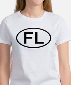 FL - Initial Oval Tee