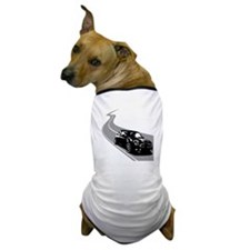 R56 Mini on Winding Road Dog T-Shirt
