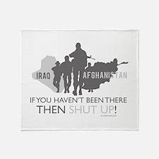 Iraq - Afghanistan If you Hav Throw Blanket