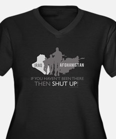 Iraq - Afghanistan If you Hav Women's Plus Size V-