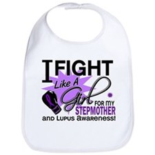 Fight Like A Girl For My Lupus Bib
