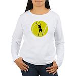 Women's Tennis Silhouette Women's Long Sleeve T-Sh