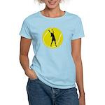 Women's Tennis Silhouette Women's Light T-Shirt