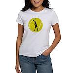 Women's Tennis Silhouette Women's T-Shirt