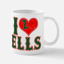 I Heart Ells Small Small Mug
