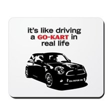 R56 Like Driving Go Kart Mousepad