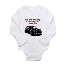 R56 Like Driving Go Kart Long Sleeve Infant Bodysu