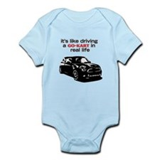 R56 Like Driving Go Kart Infant Bodysuit