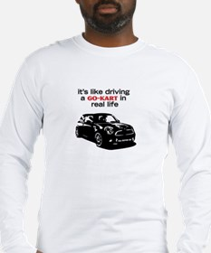 R56 Like Driving Go Kart Long Sleeve T-Shirt