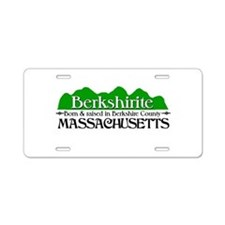 Berkshirite Aluminum License Plate