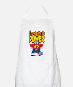 Knowledge Is Power Apron