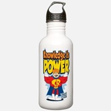 Knowledge Is Power Water Bottle
