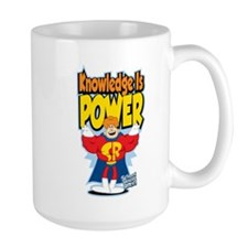 Knowledge Is Power Mug