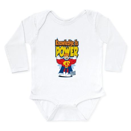 Knowledge Is Power Long Sleeve Infant Bodysuit