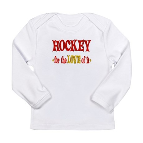 Hockey Love Long Sleeve Infant T-Shirt