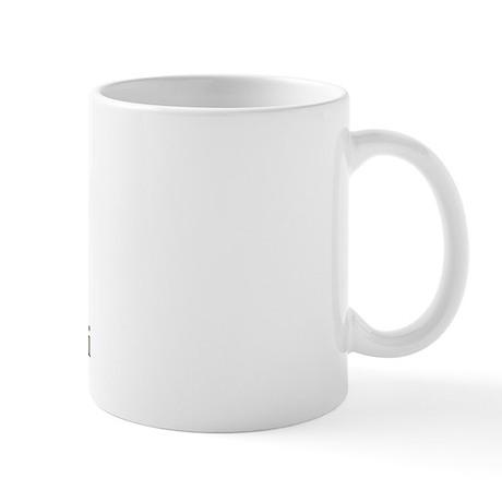 simplicity quote w/ jumper horse Mug