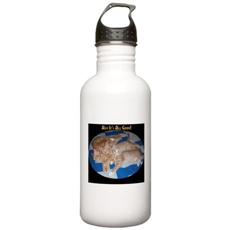 Hey It's All Good Stainless Water Bottle 1.0L