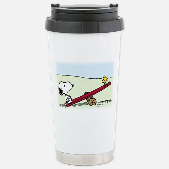See Saw Stainless Steel Travel Mug
