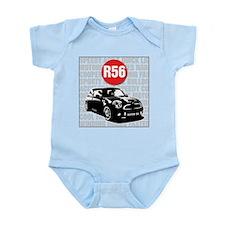 R56 Mini Words Descriptive Infant Bodysuit