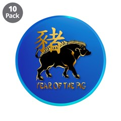 Year Of The Pig-Black Boar Sy 3.5
