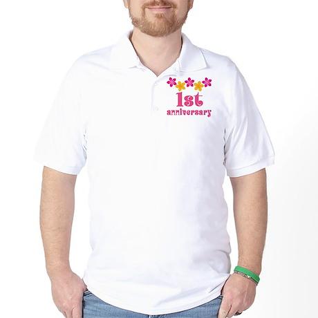 1st Anniversary Tropical Gift Golf Shirt