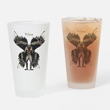 Mothman Drinking Glass
