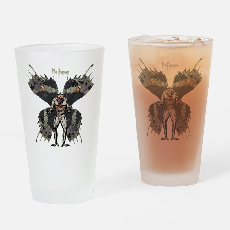 Mothman Drinking Glass
