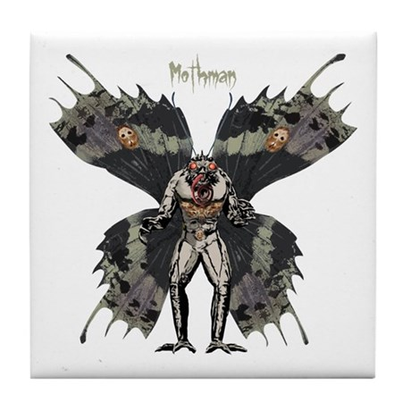 Mothman Tile Coaster