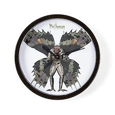 Mothman Wall Clock
